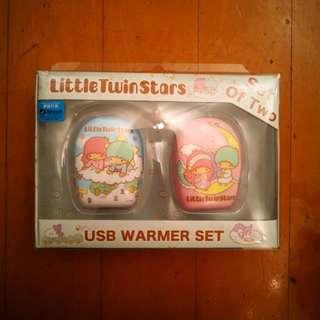 🔥Little Twin Stars USB 暖手器🔥