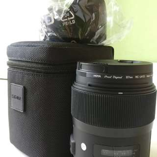 Rarely used Sigma 35mm f1.4 Art (Canon Mount)