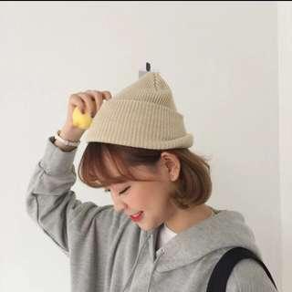 可愛毛帽♡