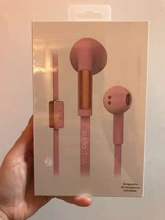 Sudio pink TVA earphone