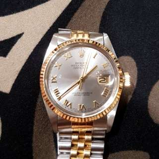 Rolex Oyster Datejust 16013 Automatic Watch 36mm