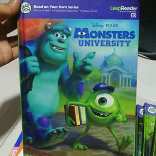 Leap Frog LeapReader Monsters University