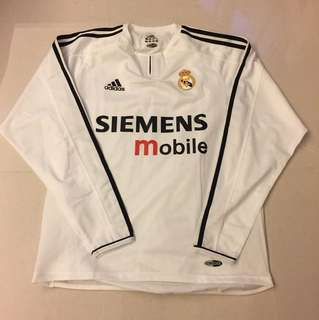 Real Madrid Vintage Player Issue Home Shirt
