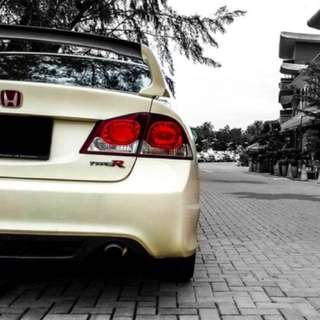 Stock FD2R Rear Diffuser