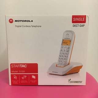 BNIB Motorola digital cordless phone