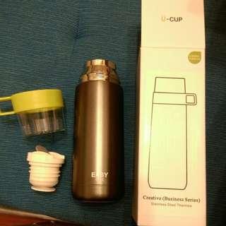 不銹鋼保溫杯 壺 winter keep warm water bottle (全新)