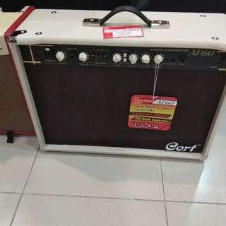 Cort Acoustic Guitar Ampli AF60 Bunga 0% Dp 0% Cukup Admin 199.000