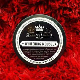The Queen's Secret Whitening Mousse