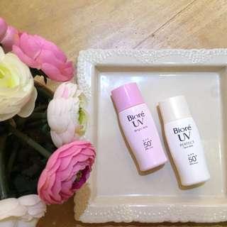Biore UV Perfect Face Milk & Bright Milk