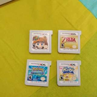 (RUSH)3DS GAMES FOR SALE