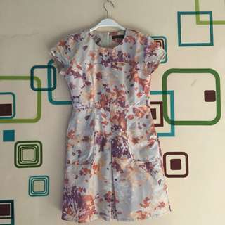Dress Agatha Floral - FIXED PRICE