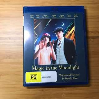 Magic in the Moonlight Blu Ray