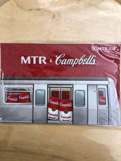 MTR x Campbell's 紀念車票
