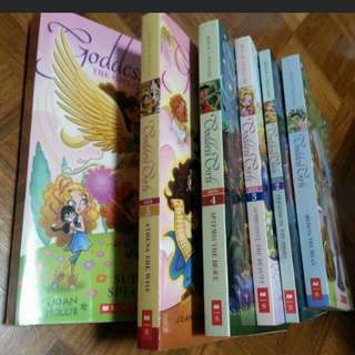 Goddess Girls books