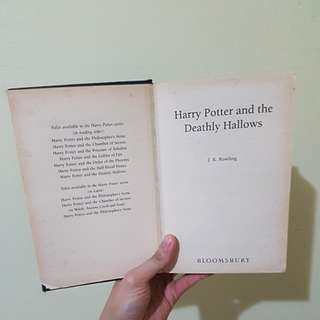 [Giveaway] Used Harry Potter and the Deathly Hallows