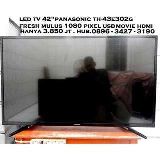 LED Tv 43 inc Panasonic Viera Full Hd,Hdmi Usb Movie Mkv Mp4 Fresh Katapang SOREANG