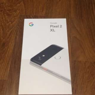 [BNIB] Google Pixel 2 XL 64gb with Case