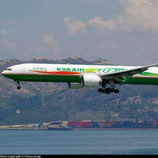 EVA 777-300ER '2005 Waves'