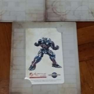 BN.  Transformer/optimus prime Ez-link card