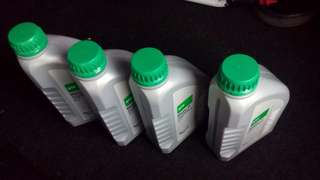 4 bottles of Nissan Matic D atf oil