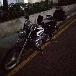 Motorbike TA200 Honda Phantom