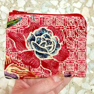 Batik Purse Handmade in Singapore