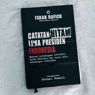 Buku Catatan Hitam Presiden Indonesia