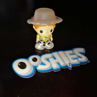 RARE! Ooshies Pear Jessie from Toy Story