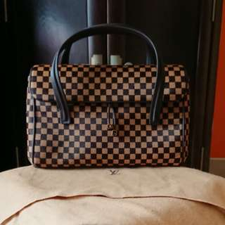 全新法國Louis Vuitton Damier Sauvage Lionne馬毛手挽袋