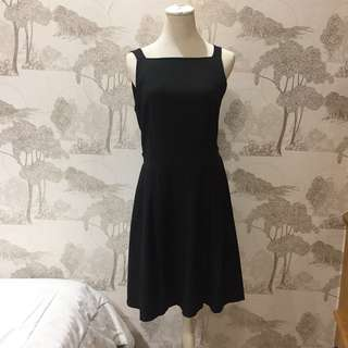 Heiress Dress hitam | Black Dress Gaun Casual Kerja #123moveon
