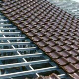 Rangka atap baja anti karat kuat tahan lebih lama