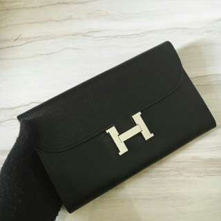 HERMES CONSTANCE WALLET IN TOGO LEATHER BAG