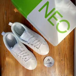 Adidas neo advantage full white