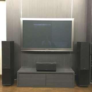 Wharfedale Diamond 10.6 (pair) and centre speakers