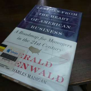 02069 Lessons from the Heart of American Business