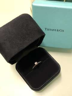 超靚Tiffany & co. Diamond ring D0.21CT