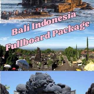 Bali Indonesia Fullboard Package