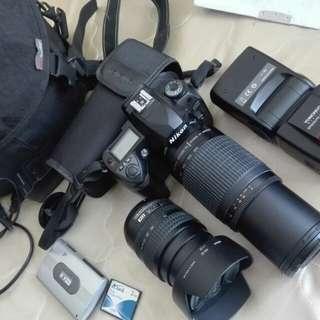 Nikon d70s tiptop full set