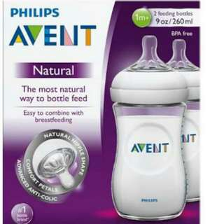 Avent 9 oz twin pack