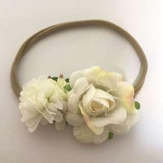Baby Girl Wedding Flowergirl Headband