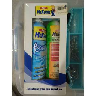 McKenic Gem Killer and Air con Cleaner (New)