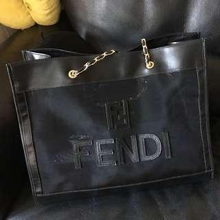 vintage 中古 FENDI shopping/shoulder bag