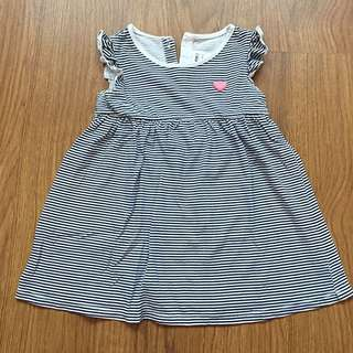 MIKI Baby Striped Dress