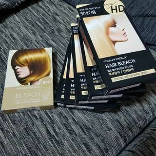 TONY MOLY Make HD Hair Bleach 10g + 30ml