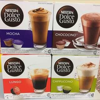 Nescafe 咖啡膠囊