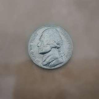 1988 USA 10¢ coin