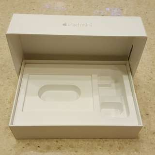Apple iPad mini 4 ~ BOX ONLY ~ Very New