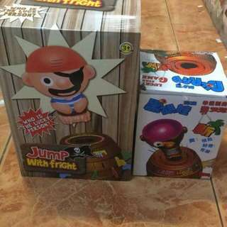 Tricky pirate barrel Toy set Small - P 450 Large - P680