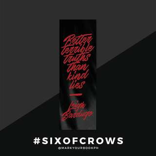 Six of Crows Bookmark
