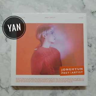 [Ready Stock] JONGHYUN - Poet l Artist (with poster)